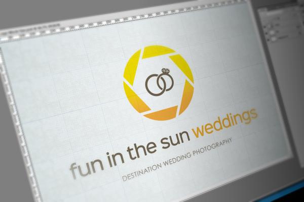 Logo Design For Fun in the Sun Weddings