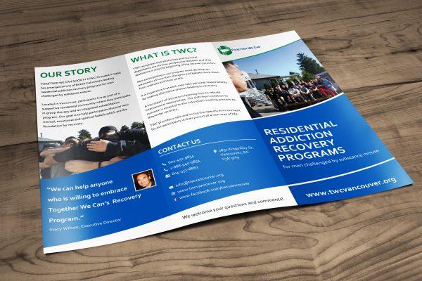 Brochure Design for Together We Can