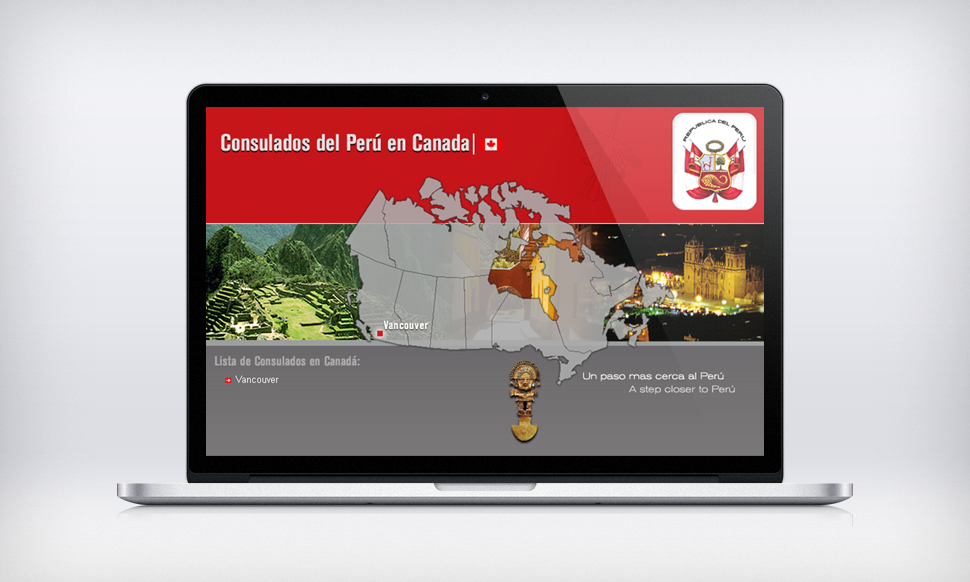 Solocube Starts Web Design Work For Consulate General Of Peru In Vancouver Bc