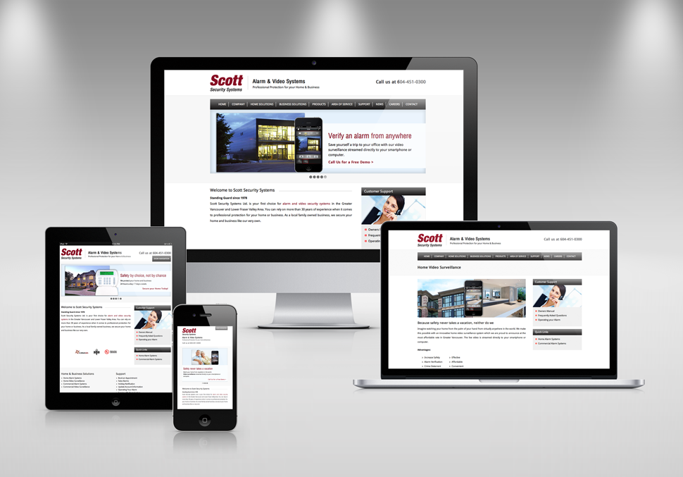 Responsive Website Design by Solocube Creative