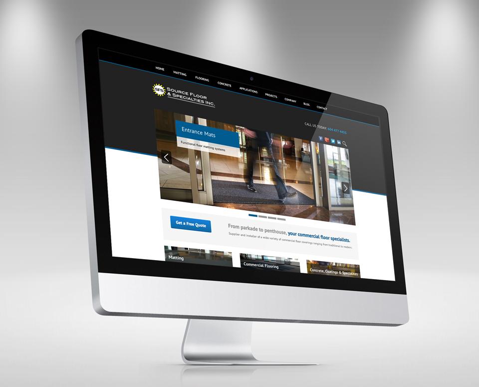 Vancouver Web Design for Source Floor