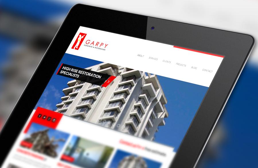 Responsive Web Design iPad by Solocube Creative