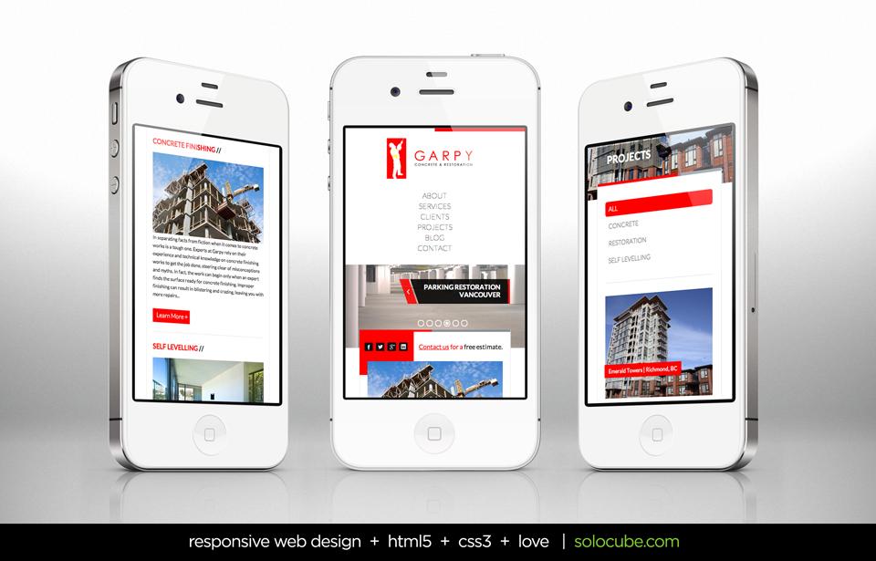 Responsive Web Design by Solocube Creative