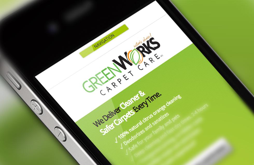 Mobile Web Design by Solocube Creative