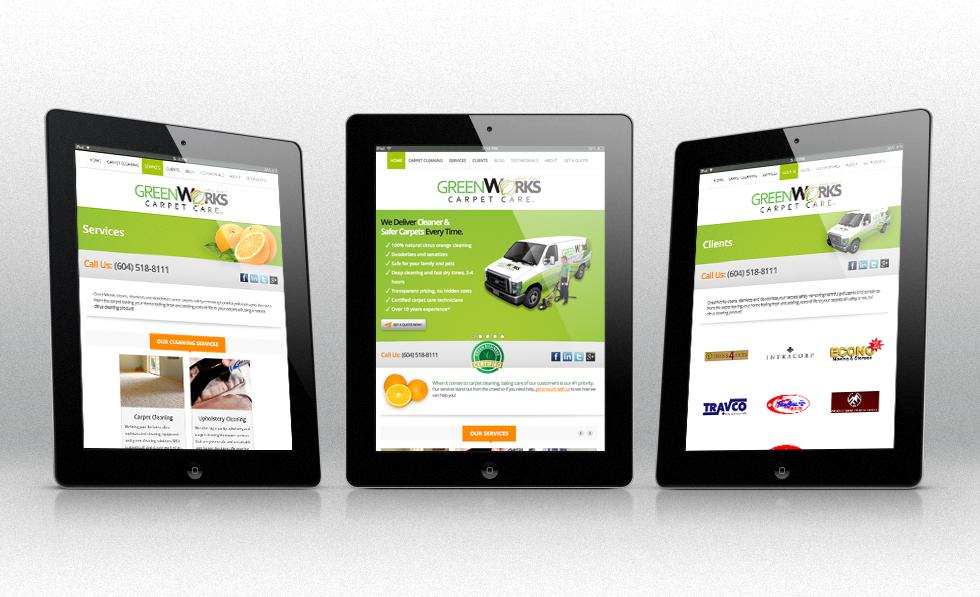 Mobile Website Design by Solocube Creative