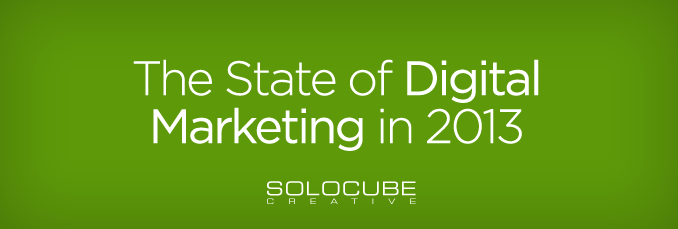 The State of Digital Marketing in 2013