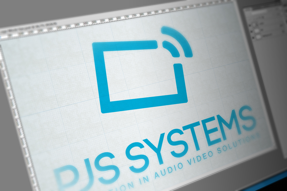 PJS Systems Inc Logo Design by Solocube Creative