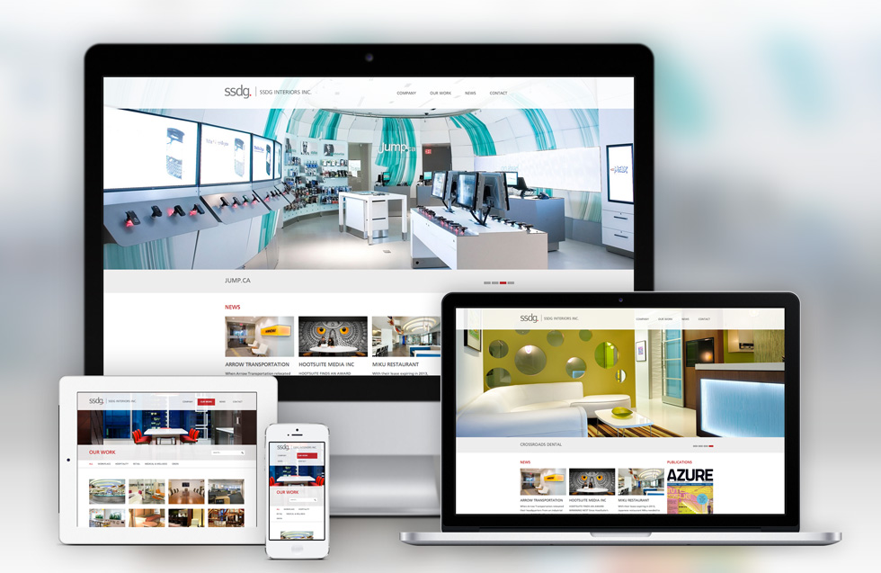 Ssdg Interiors Showcases Best Design Projects In New Refreshed Website Designed By Solocube Creative