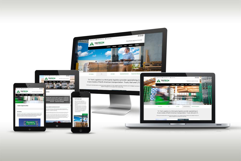 Responsive Web Design for Tri-Tech Logistics