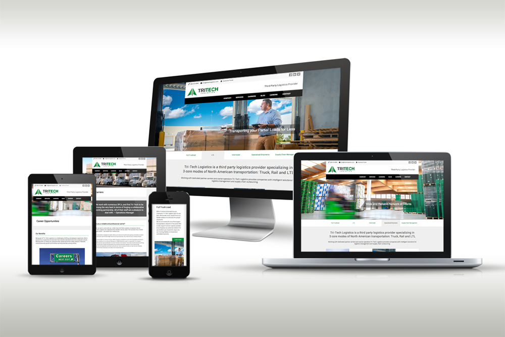 Responsive Web Design for Tri-Tech Logistics