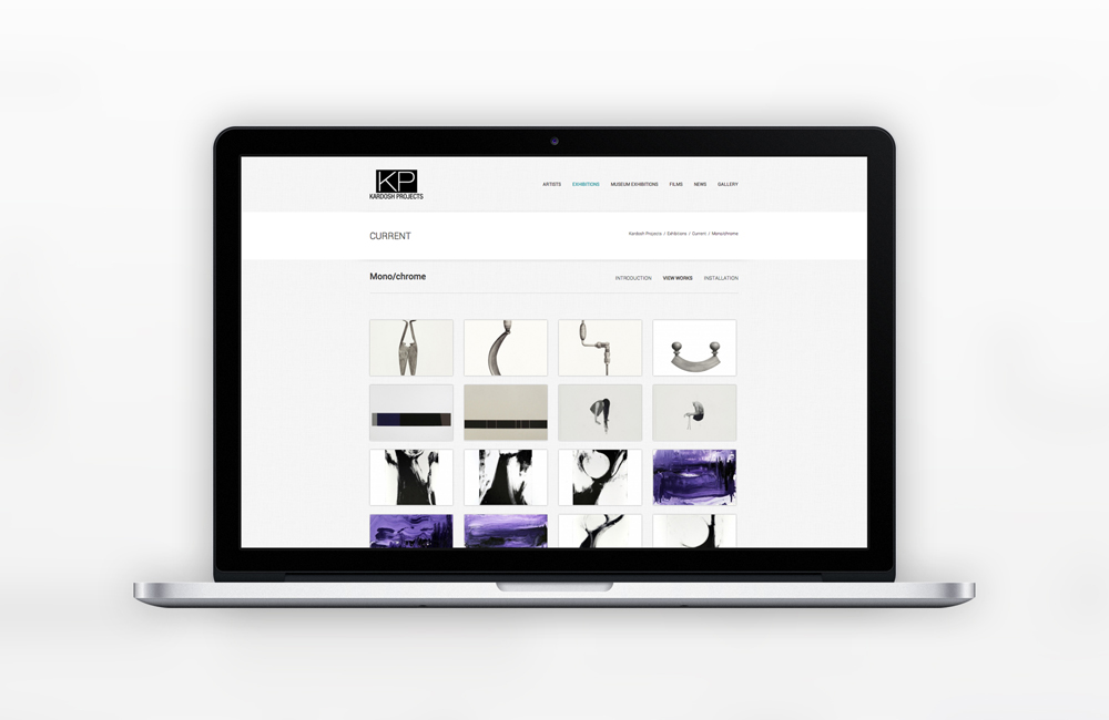 Web Design for Kardosh Projects by Solocube Creative