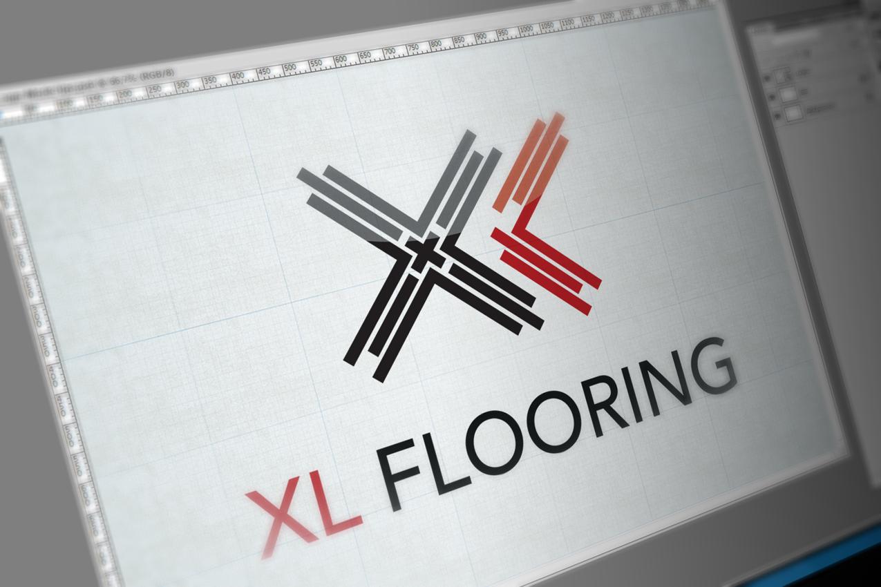 XL-Flooring-Logo-Design-Solocube02