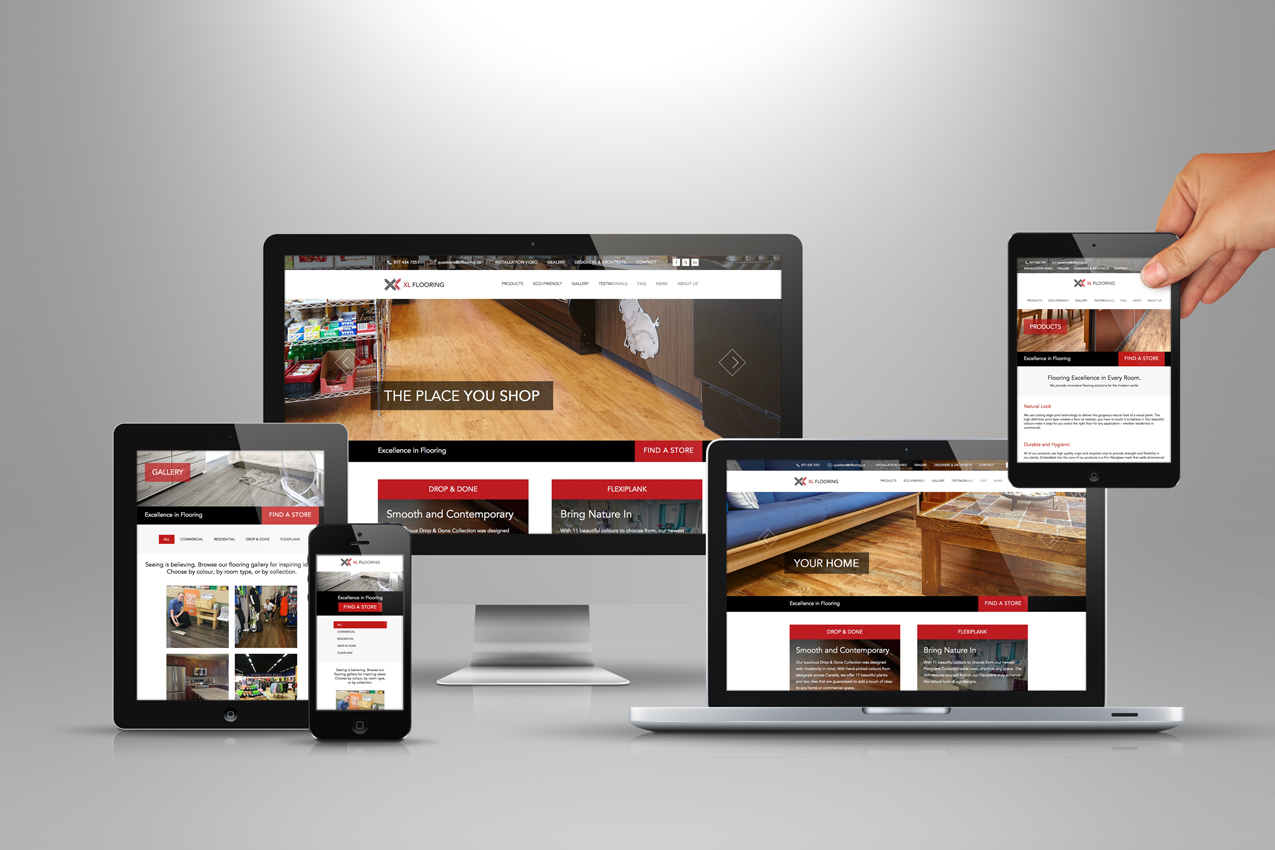 Xl flooring website launched solocube once again for Floor and decor website