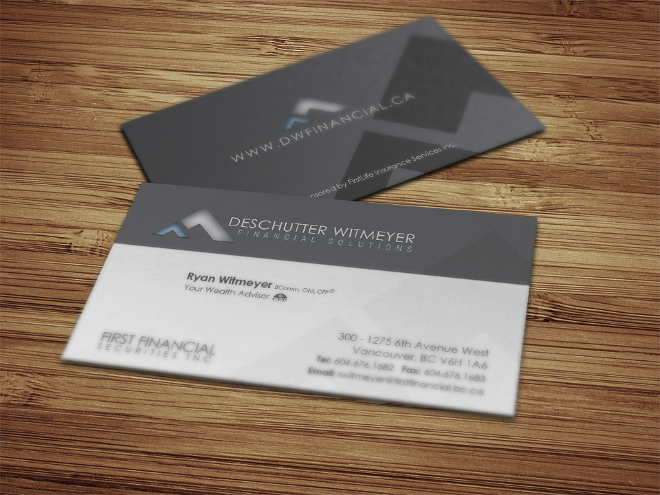 Deschutter Witmeyer Financial | Solocube Creative