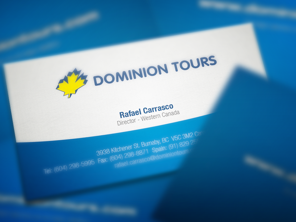 Dominion-Tours-Business-Cards3-by-Solocube-Creative | Solocube Creative
