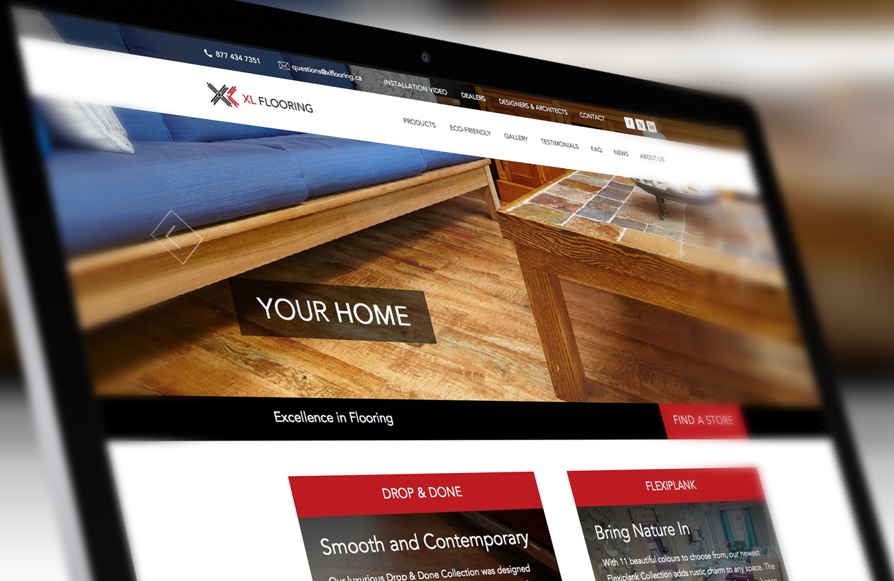 Xl Flooring Website Launched Solocube Once Again Manifests Branding Solutions Excellence
