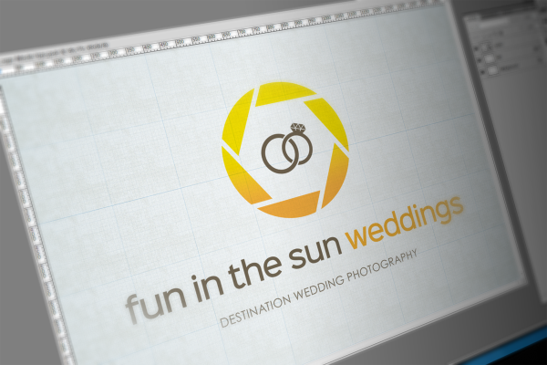 Logo Design For Fun in the Sun Weddings