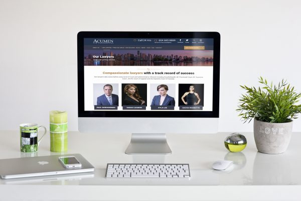 Acumen Law Gets Complete Redesign With Improved Website From Solocube Creative