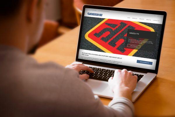 Web Design for Henderson Mat