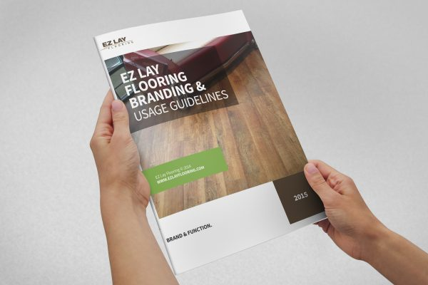 Identity Manual for EZ Lay Flooring