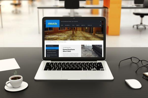 Web Design for Pro Level Flooring
