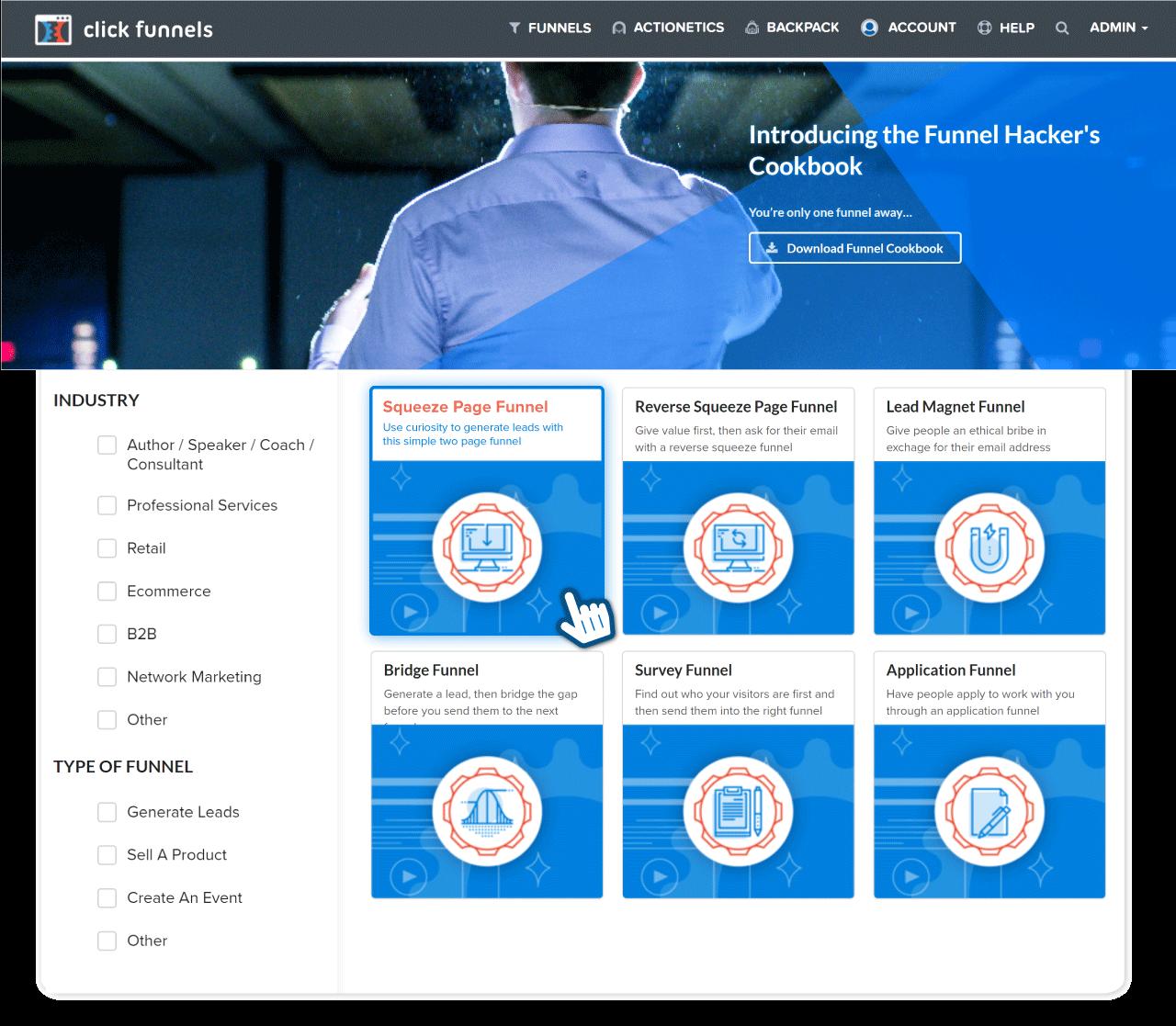 Clickfunnels - Sales Funnel Software