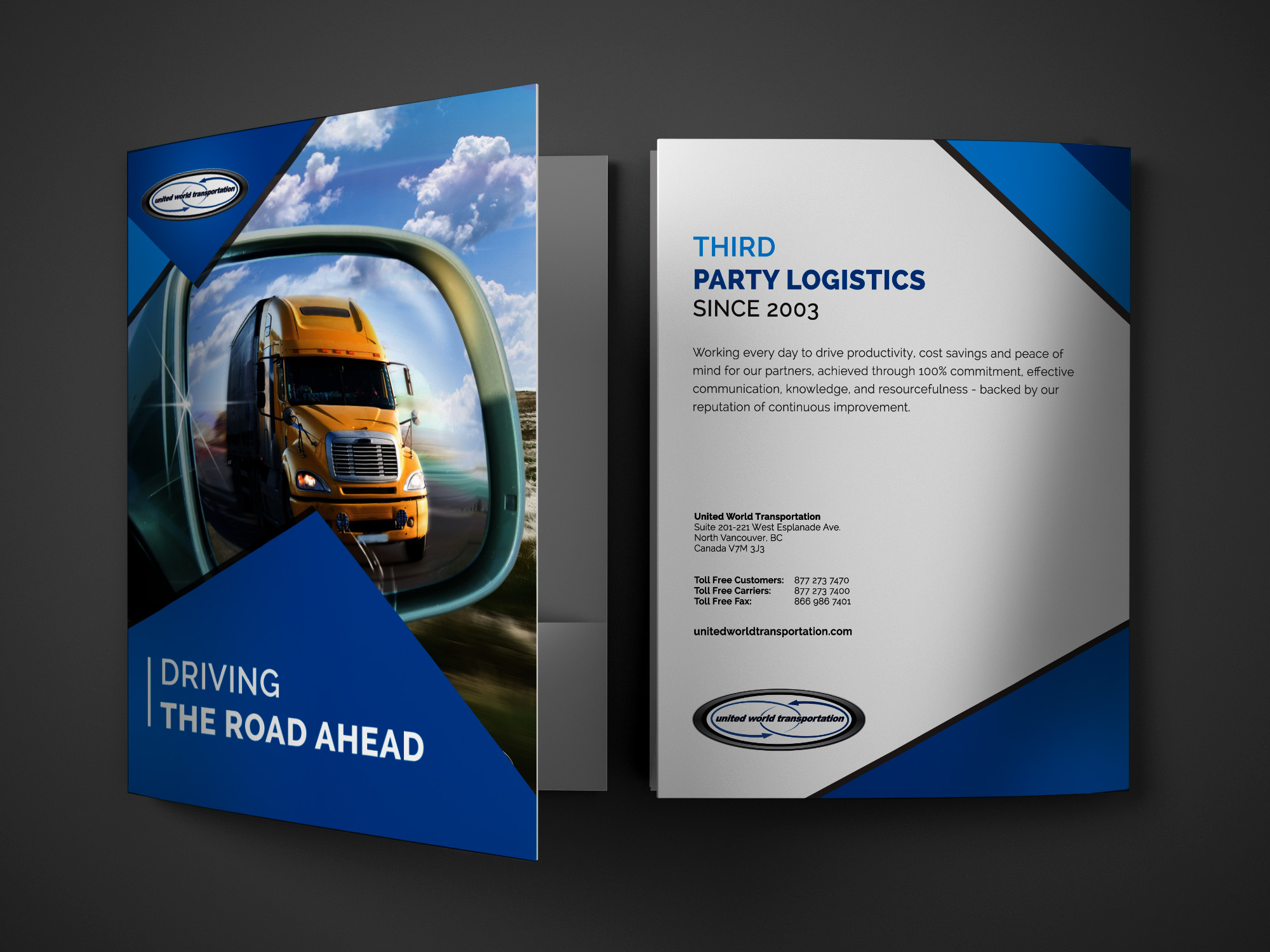 Presentation Folder Design by Solocube Creative
